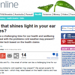 Could a gadget that shines light in your ear cure winter blues?